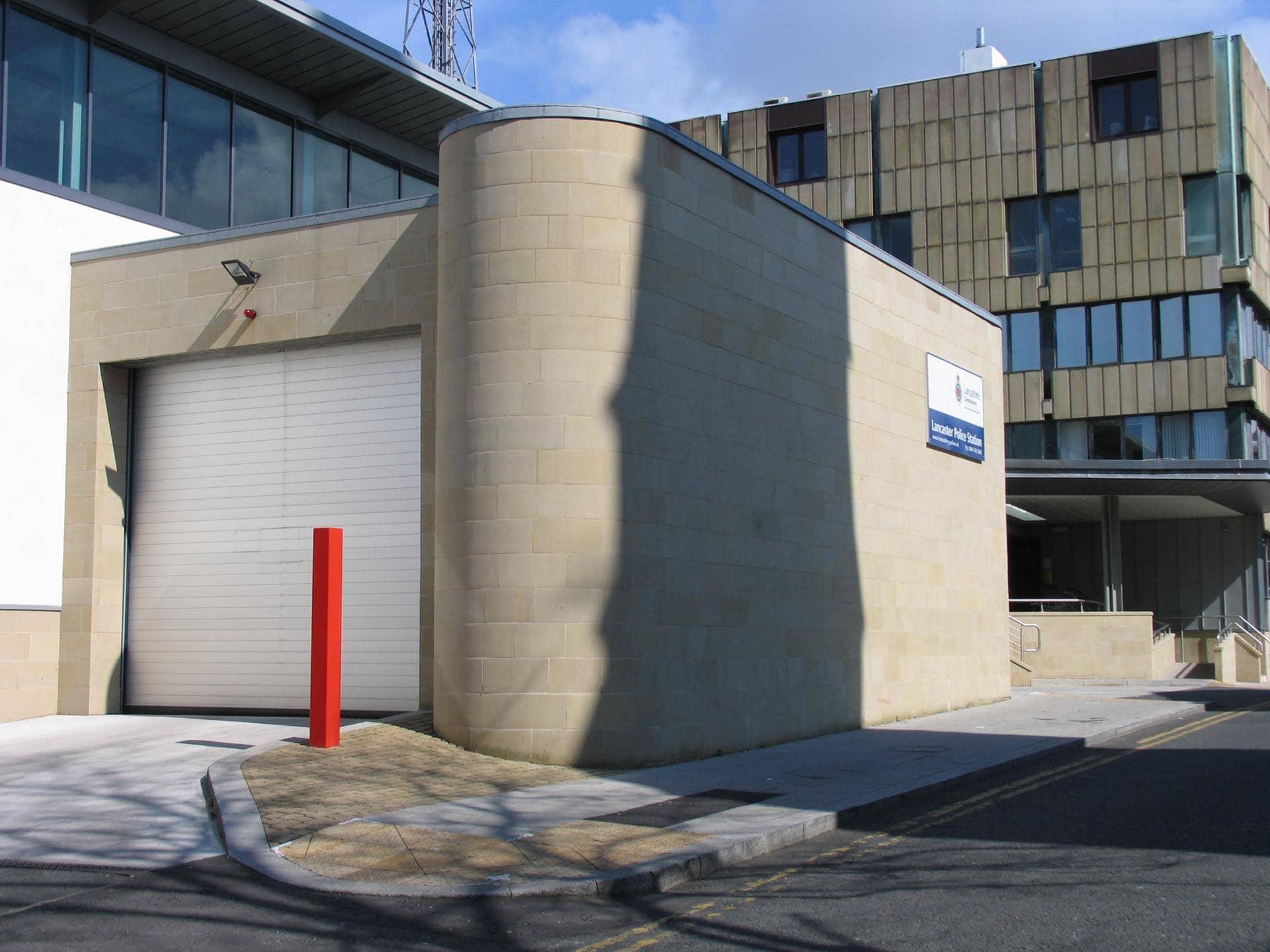 Lancaster Police Station.